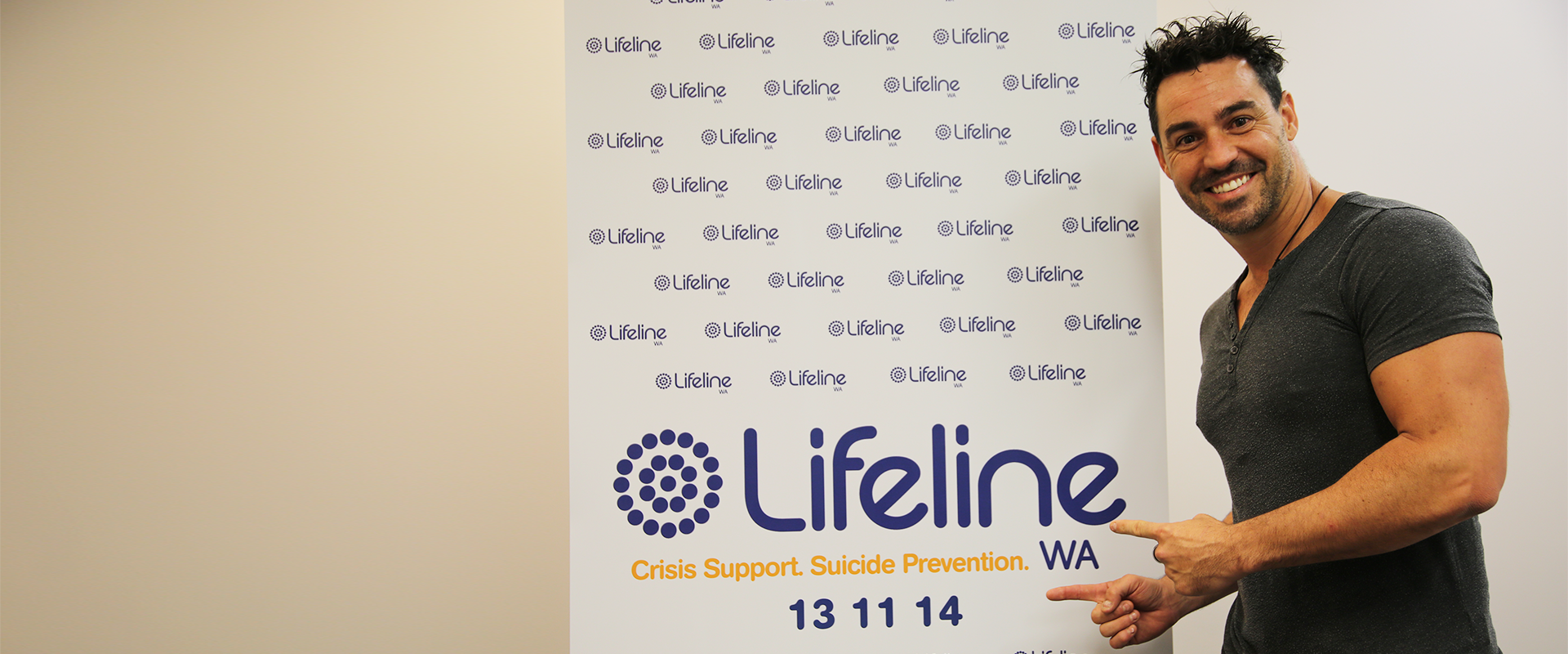 Lifeline WA's newest ambassador